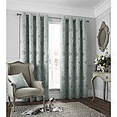 Catherine Lansfield Les sites de Paris Curtains 90x90 - Duck Egg