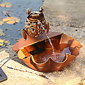 Ting Tang Frog Solar Water Feature