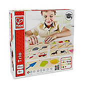 Hape Home Education Trio Game - Educational
