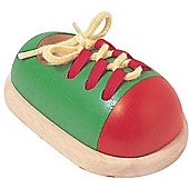Plan Toys Tie up a Shoe ,wooden toy