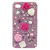 "Tortoiseâ""¢ Look Hard Case iPhone 4/4S 3D Flower Pink/Cream"