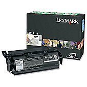Lexmark Black Return Program Print Cartridge (Yield 7,000 Pages) for T650/T652/T654 Mono Laser Printers