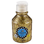 Go Create Ready Mixed Glitter Paint 150ml - Gold