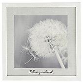 Dandelion Framed Print 35x35cm