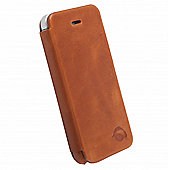 Krusell Kiruna FlipCover Case for iPhone 5 - Camel