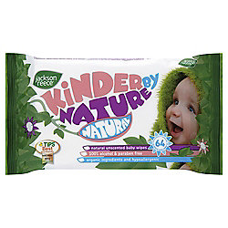 Jackson Reece Nat Unscented Baby Wipes 64