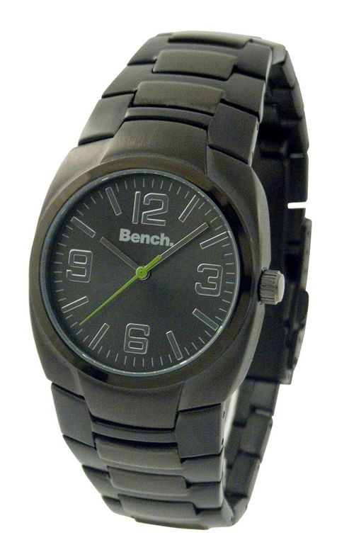 Bench Gents Gunmetal Steel Bracelet Watch BC0135BKS