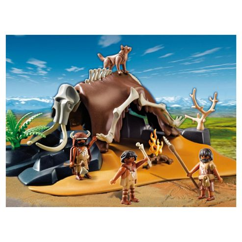 Playmobil 5101 Mammoth Skeleton Tent with Hunters