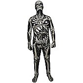 Morphsuit Skull and Bones - Adult Costume Size: 42-44
