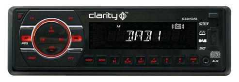 Clarity ICS201 DAB+FM+CD Head Unit - 4 x 40W