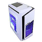 Cube FURY White Limited Edition Gaming PC i5 Quad Core Skylake with Radeon R9 270 Graphics CU-FURYwI5270WIN8 Intel i5 6400 2.7Ghz Desktop