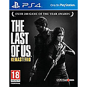 The Last of Us Remastered Day 1 Edition PS4