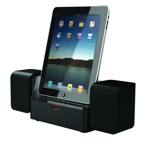 iLuv Audio Cube iPad Speaker Dock