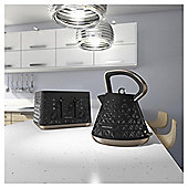 Morphy Richards Prism 248101 4 Slice Toaster - Black