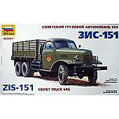 ZIS 151 Soviet Truck 6x6 - 1:35 Scale - Model Kit - 3541 - Zvezda
