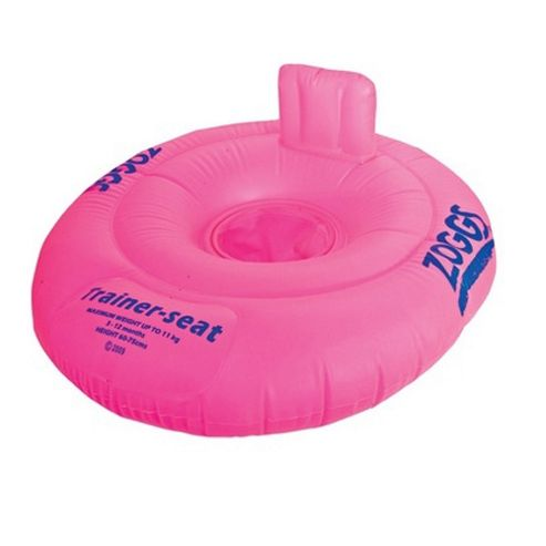 Zoggs Pink Floating Trainer Seat 3-12 months Up to 11kg