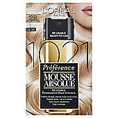 L'Oréal Mousse Absolue 1021 Light Frosted Blonde