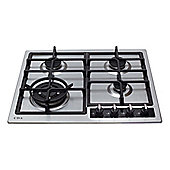 CDA HG6350 580mm Stainless Steel Gas Hob