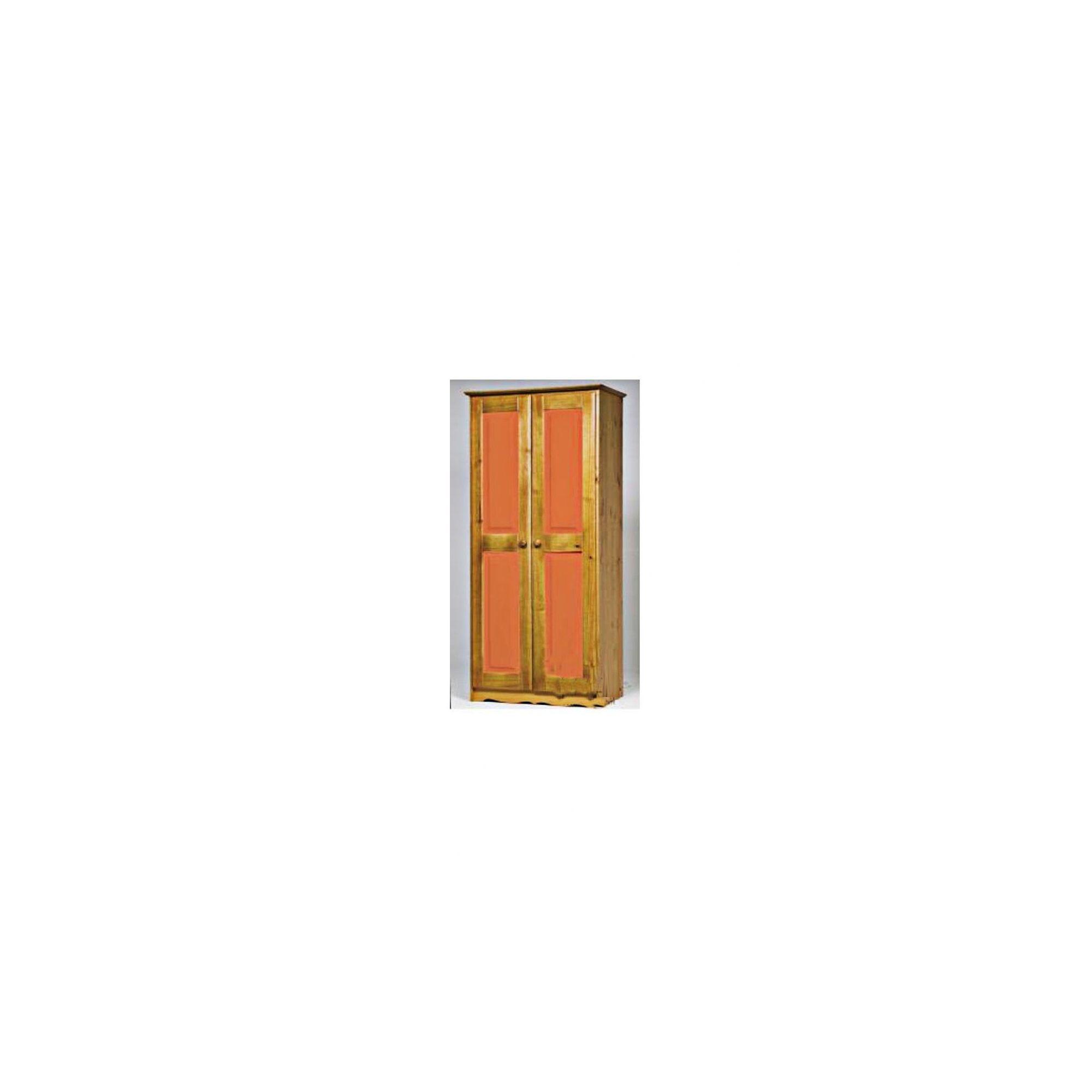Verona 2 Door Wardrobe - Orange at Tesco Direct