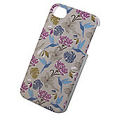 "Tortoiseâ""¢ Look Hard Protective Case, iPhone 4/4S,Hummingbird & Flowers design."