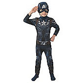 Captain America Medium 5-6Yrs