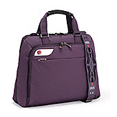 i-stay 15.6-16 inch purple stylish ladies laptop and tablet bag. Funky laptop case for women