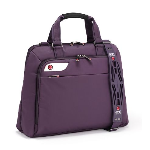 Luxury  Inch Ladies Laptop Bag With Non Slip Bag Strap Is0126 From Falcon Bags