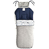 Jane Luxury Nest Plus Footmuff (Blue Moon)