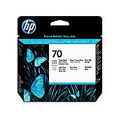 HP 70 printer ink cacrtridge - Black and Light Gray