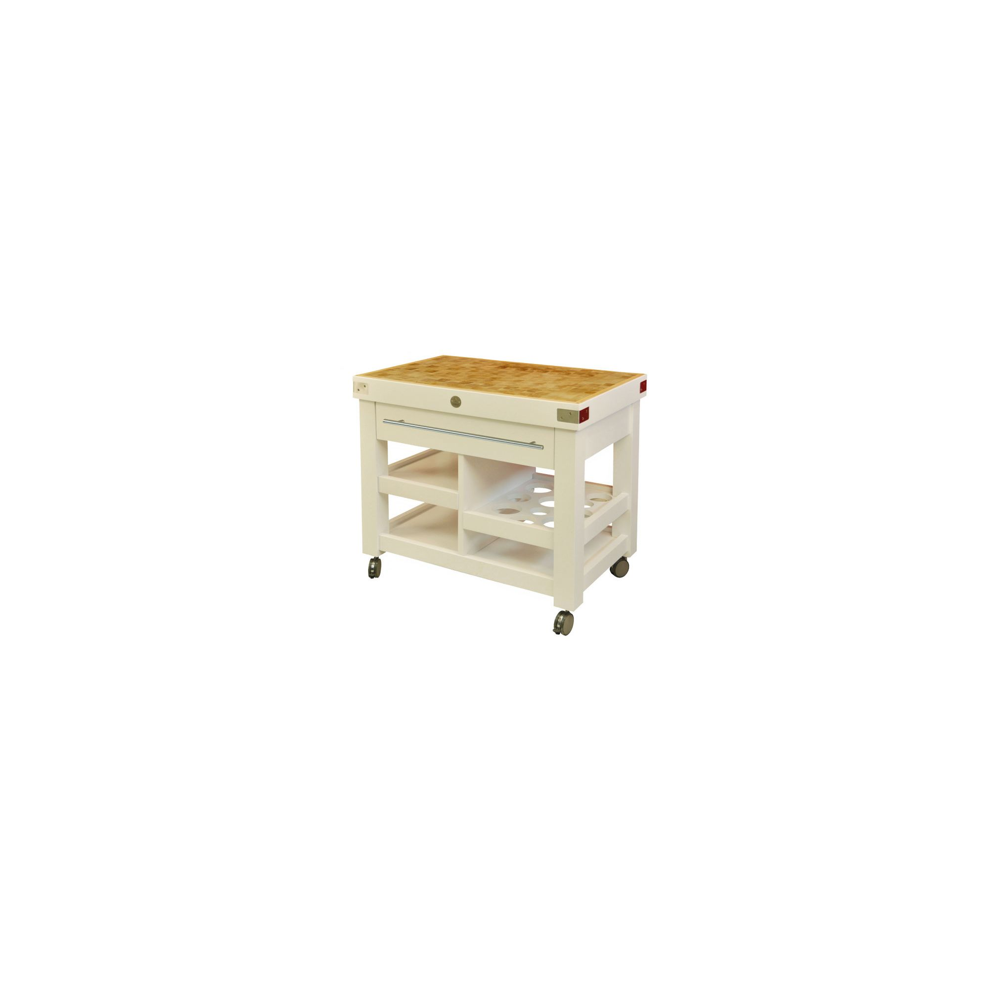 Chabret Multifunction Kitchen Cart - 90cm X 100cm X 50cm at Tesco Direct
