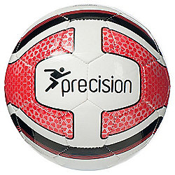 Precision Santos Mini Training Ball - White/Red/Black