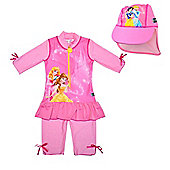 Disney Princess UV Suit with Sun Hat 3 to 4 Years