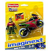 Fisher Price Imaginext DC Super Friends Robin & Cycle