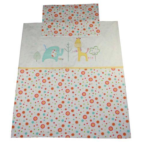 Lollipop Lane Tiddly Wink Safari Duvet Case & Pillowcase Set