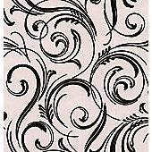 Graham & Brown LLB Swirly Wurly Wallpaper - Cream