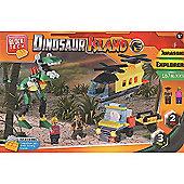 Block Tech - Dinosaur Island Building Set
