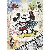 Disney RETRO Mickey 500 Piece Puzzle - Ravensburger