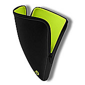 be.ez LA robe Black Addict Sleeve for MacBook 13.3 inch (Black/Wasabi)