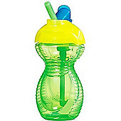 Munchkin Click Lock Flip Straw Cup 10oz Green/Yellow