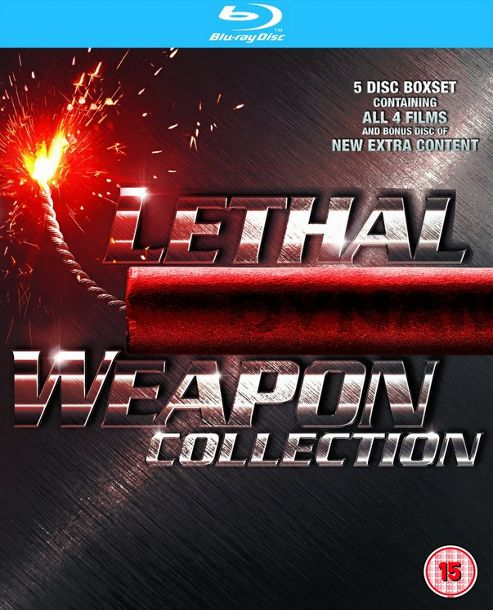 Lethal Weapon 1-4 (Blu-ray Boxset)