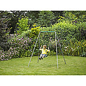 Plum Metal Single Swing Set
