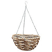 Dobbies Essentials Natural Hanging Basket Cotswold