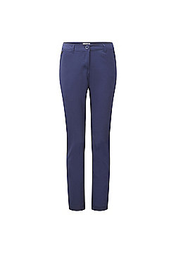 Craghoppers Ladies Kiwi Pro Stretch Hiking Trousers - Blue