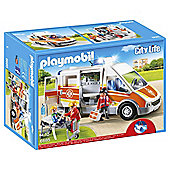 Playmobil - City Life Ambulance with Lights and Sound 6685