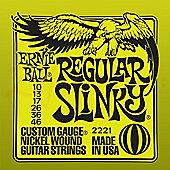 Ernie Ball Nickel Wound Slinky Strings String Gauge-Light 10-46