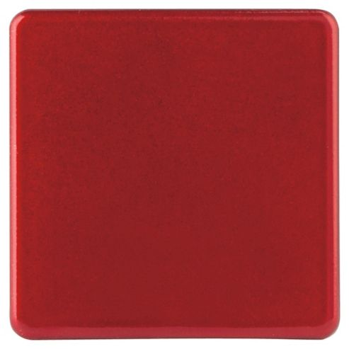 Tesco Red Glitter Coasters 4 Pack