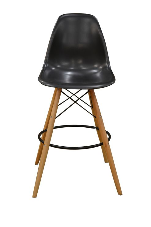 buy charles eames dsw bar stool from our bar tables. Black Bedroom Furniture Sets. Home Design Ideas