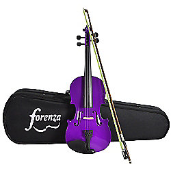 Forenza Uno Series 3/4 Size Purple Violin Outfit