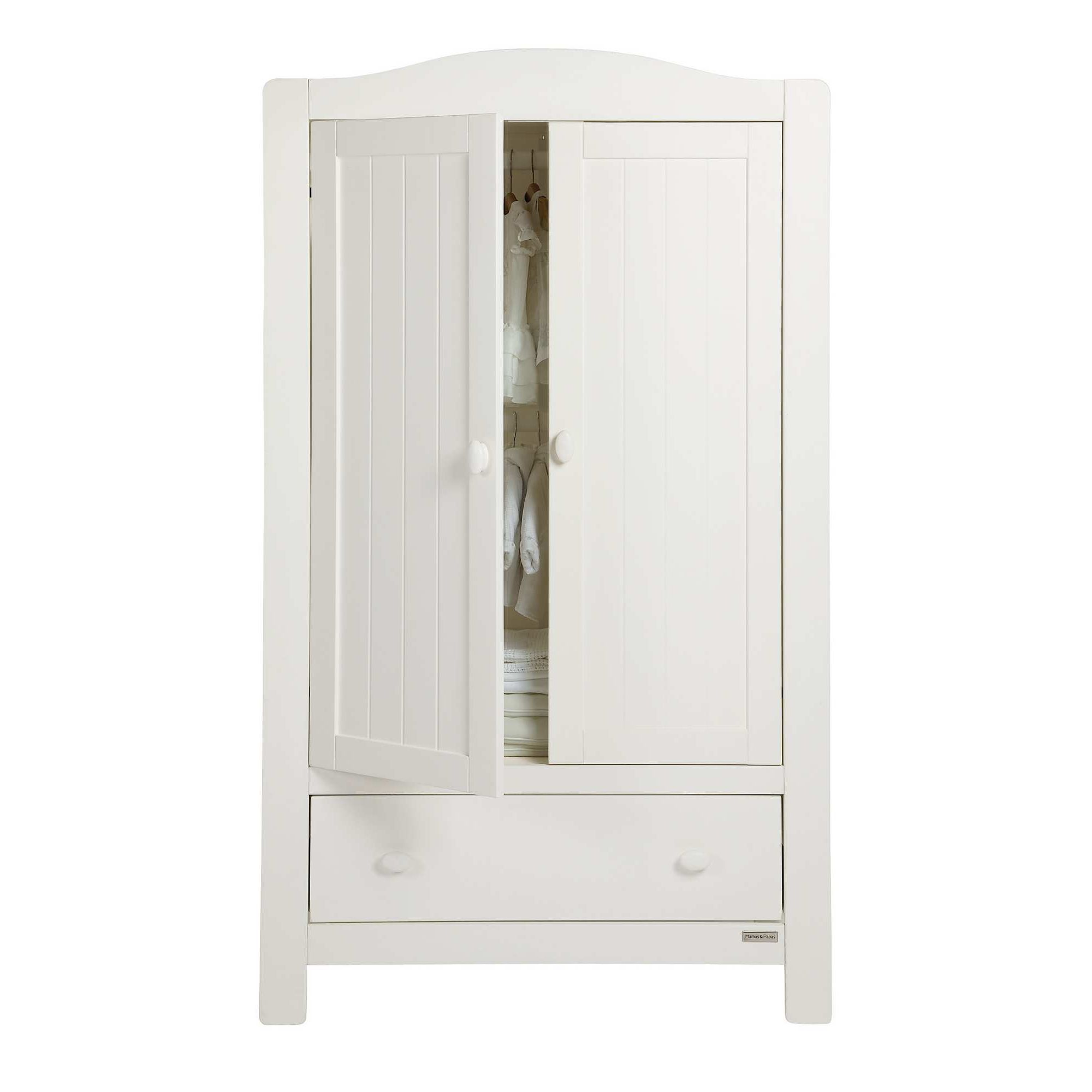 Mamas & Papas - Willow Wardrobe - White at Tesco Direct