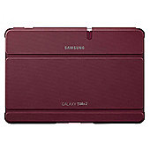 "Samsung Galaxy Tab 2 Book Cover Case  10.1"" Red"
